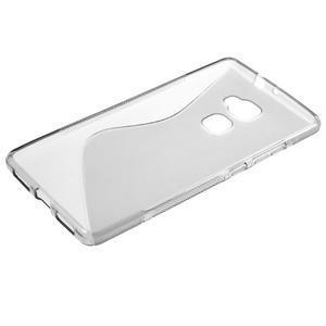 S-line gelový obal na mobil Huawei Mate S - šedý - 5