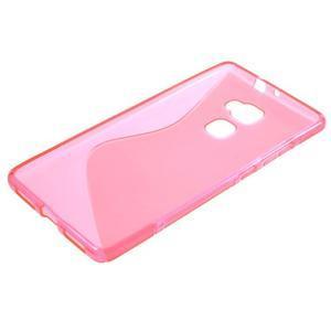 S-line gelový obal na mobil Huawei Mate S - rose - 5