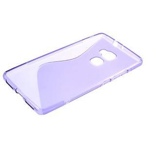 S-line gelový obal na mobil Huawei Mate S - fialový - 5