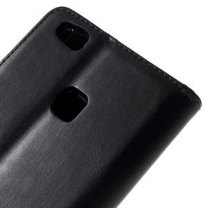 Klopové pouzdro na mobil Huawei P9 Lite - černé - 5