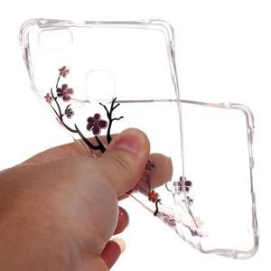 Lacqe geový obal na Huawei P9 Lite - kvetoucí větev - 5