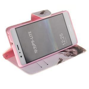 Lethy knižkové puzdro na telefon Huawei P9 Lite - pekelná črievica - 5