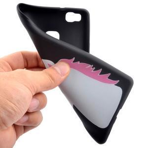 Gelový obal na telefon Huawei P9 Lite - jednorožec - 5