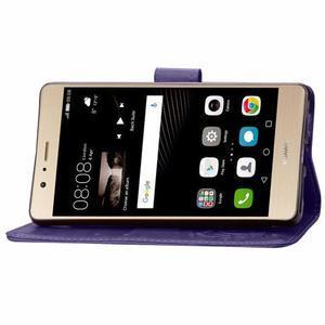 Cloverleaf peněženkové pouzdro na Huawei P9 Lite - fialové - 5
