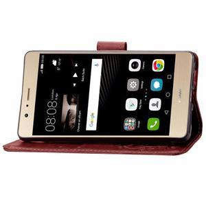 Cloverleaf penženkové pouzdro na Huawei P9 Lite - hnědé - 5