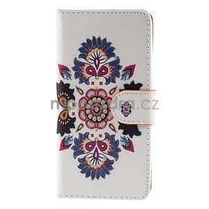 Zapínací peňaženkové puzdro na Huawei Y635 - folk - 5