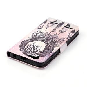 Knížkové puzdro pre mobil Lenovo Vibe K5 / K5 Plus - lapač snov - 5
