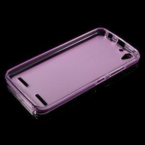Matný gélový obal pre mobil Lenovo Vibe K5 / K5 Plus - ružový - 5