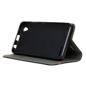 Klopové puzdro pre Lenovo Vibe K5 / K5 Plus - čierné - 5
