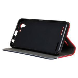 Klopové puzdro pre Lenovo Vibe K5 / K5 Plus - červené - 5