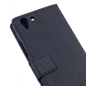 Peněženkové pouzdro na Lenovo Vibe K5 / K5 Plus - černé - 5