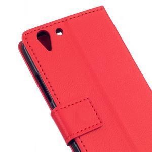 Peňaženkové puzdro pre Lenovo Vibe K5 / K5 Plus - červené - 5