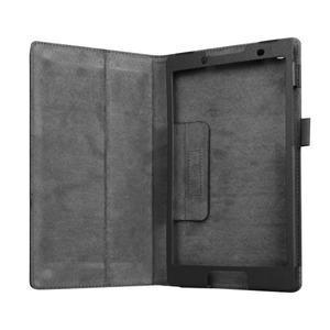 Dvojpolohové puzdro pre tablet Lenovo Tab 2 A8-50 - čierné - 5