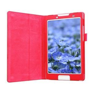 Dvojpolohové puzdro pre tablet Lenovo Tab 2 A8-50 - červené - 5