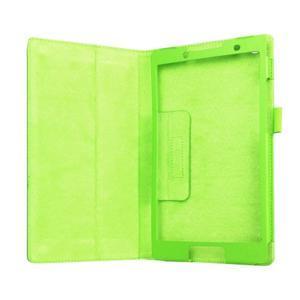 Dvojpolohové puzdro pre tablet Lenovo Tab 2 A8-50 - zelené - 5
