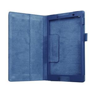 Dvojpolohové puzdro pre tablet Lenovo Tab 2 A8-50 - tmavomodré - 5