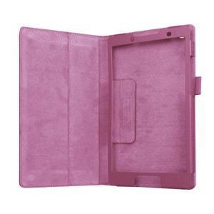 Dvojpolohové puzdro pre tablet Lenovo Tab 2 A8-50 - fialové - 5