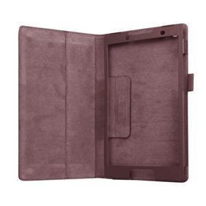 Dvojpolohové puzdro pre tablet Lenovo Tab 2 A8-50 - hnedé - 5