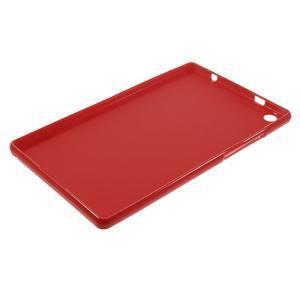 Gélový obal pre tablet Lenovo Tab 2 A8-50 - červený - 5