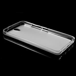 Matný gélový obal pre mobil Lenovo Vibe S1 - Transparentný - 5
