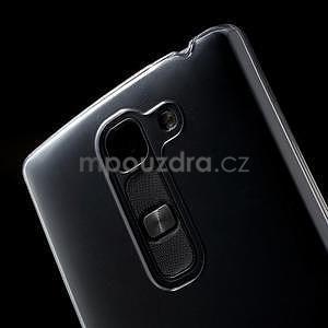 Transparentný plastový kryt pre mobil LG Spirit - 5