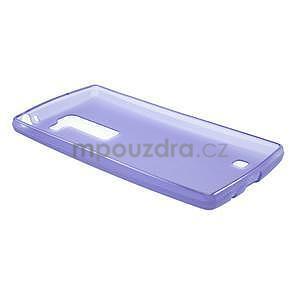 Matný gélový kryt na LG Spirit - fialový - 5