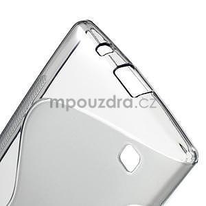S-line gélový obal na LG Spirit 4G LTE - šedý - 5