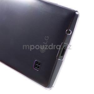 Ultra tenký obal pre LG Spirit - fialový - 5