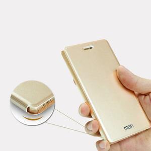 Vintage PU kožené pouzdro na mobil Meizu M3 note - zlaté - 5