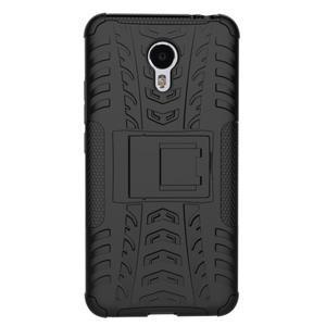 Outdoor odolný kryt na mobil Meizu M3 note - černý - 5