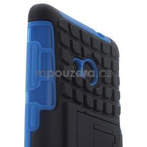 Vysoce odolný obal pre Microsoft Lumia 535 - modrý - 5