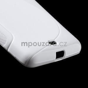 Gélový obal na Microsoft Lumia 535 - biely - 5