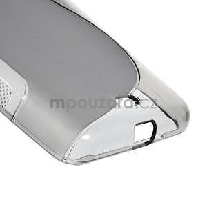 Gélový obal na Microsoft Lumia 535 - šedý - 5