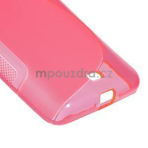 Gélový obal na Microsoft Lumia 535 - rose - 5