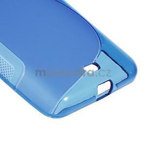 Gélový obal na Microsoft Lumia 535 - modrý - 5
