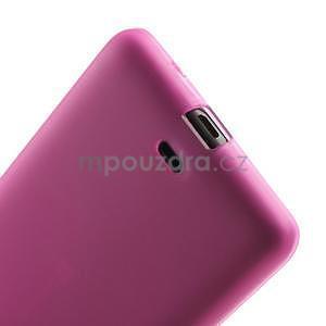 Matný gélový obal Microsoft Lumia 535 - rose - 5
