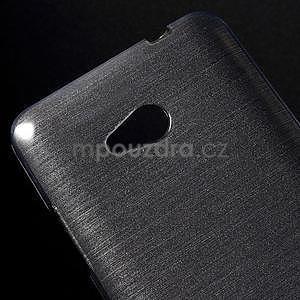 Brúsený gélový obal pre Microsoft Lumia 640 LTE - sivý - 5