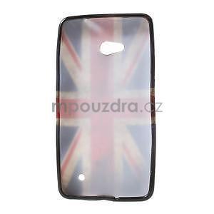 Gélový obal Microsoft Lumia 640 LTE - vlajka UK - 5