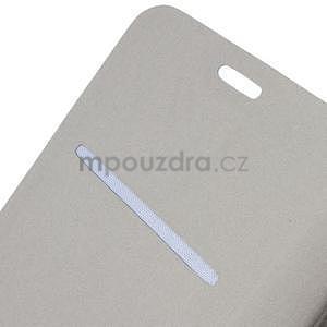 Tyrkysové peňaženkové puzdro na Microsoft Lumia 640 LTE - 5