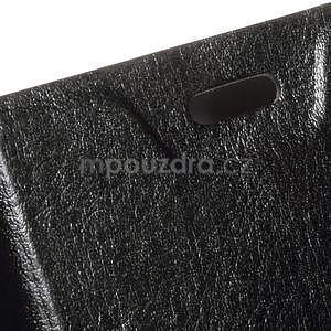 Čierné peňaženkové puzdro na Microsoft Lumia 640 LTE - 5