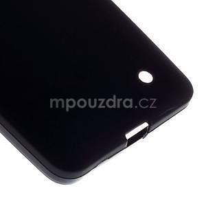 Matný gélový kryt pre Microsoft Lumia 640 LTE - čierny - 5