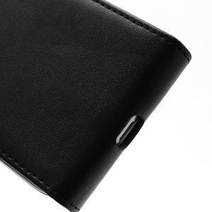 Flipové pouzdro na Samsung Galaxy S4 mini - černé - 5