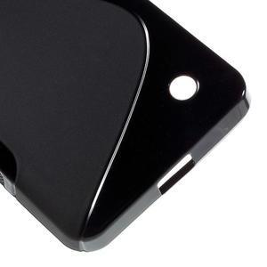 S-line gélový obal na mobil Microsoft Lumia 550 - čierný - 5