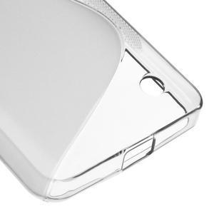 S-line gélový obal pre mobil Microsoft Lumia 550 - sivý - 5