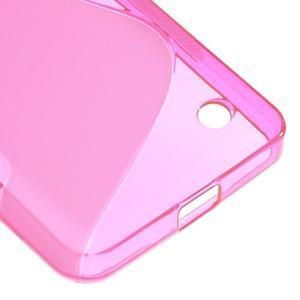 S-line gélový obal pre mobil Microsoft Lumia 550 - rose - 5