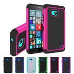 Odolný hybridní kryt pre mobil Microsoft Lumia 640 - rose - 5/5