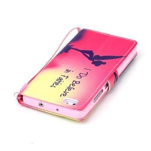 Peněženkové pouzdro Huawei Ascend P8 Lite - víla - 5