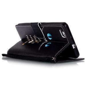 Peňaženkové puzdro Huawei Ascend P8 Lite - nedotýkať sa - 5