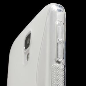 S-line gélový obal pre Samsung Galaxy S4 - transparentný - 5
