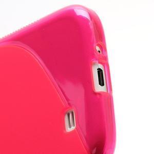 S-line gélový obal na Samsung Galaxy S4 - rose - 5